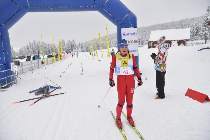 Pasjonujący finisz biegu tylko dla kobiet