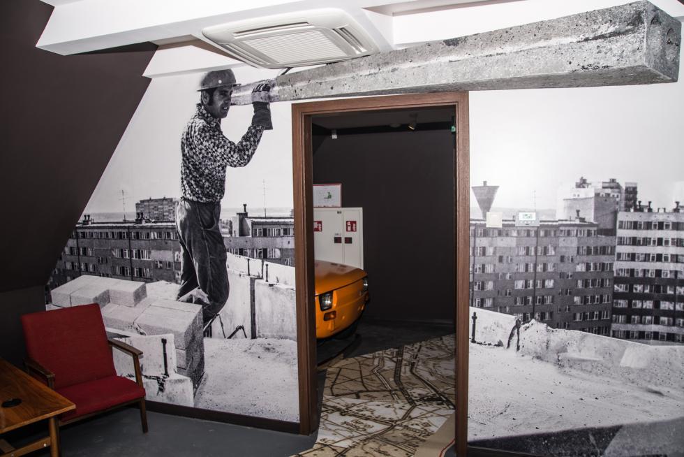 Multimedialne muzeum wlubińskim ratuszu