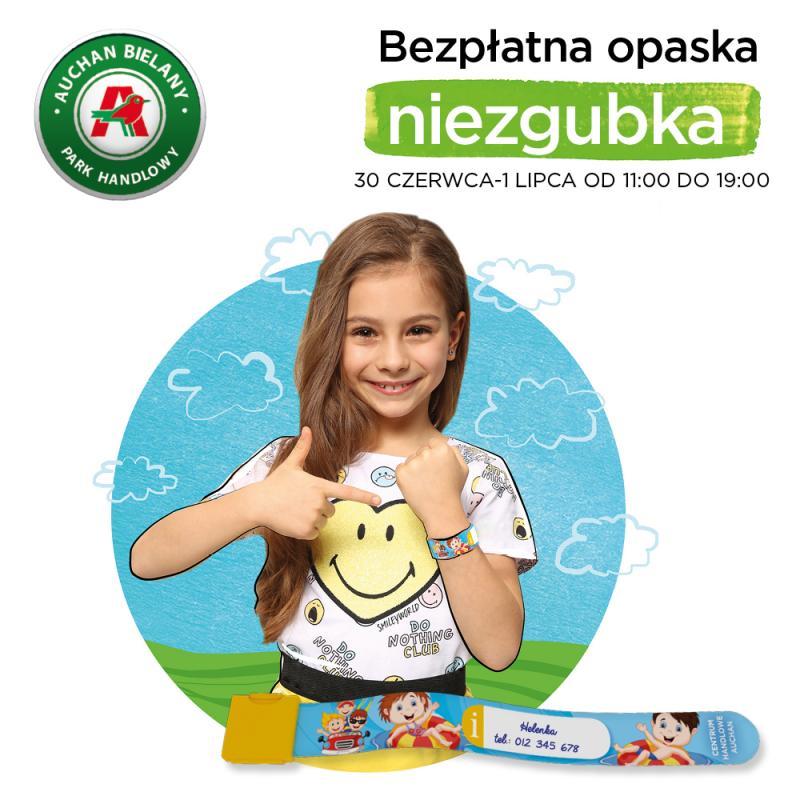 Zadbaj obezpieczne wakacje iodbierz opaskę dla dziecka