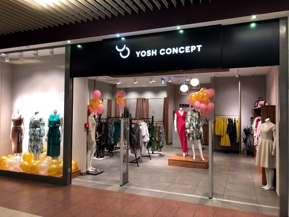 Relokacja ipowiększenie butiku YOSH Concept wArkadach Wrocławskich
