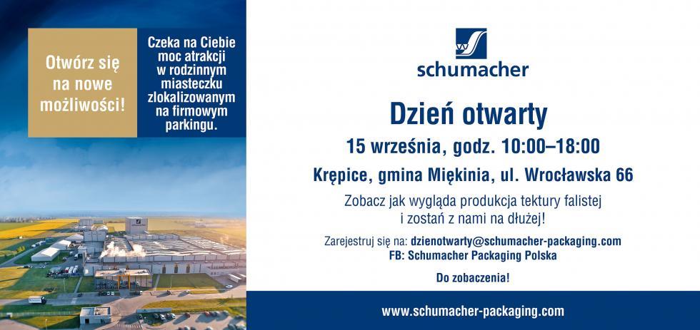 Dzień Otwarty wSchumacher Packaging 15 września