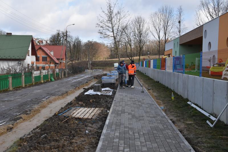 Nowe chodniki wObornikach Śląskich