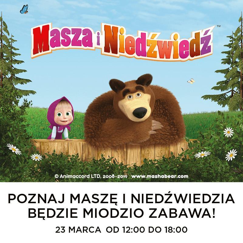 Masza iNiedźwiedź odwiedzą Wrocław