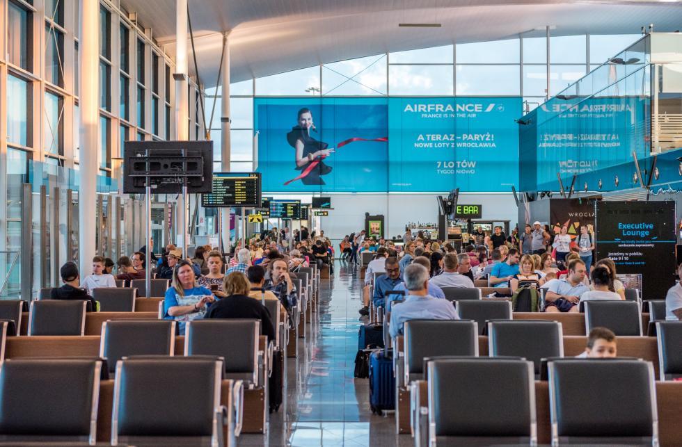 Port Lotniczy Wrocław: już ponad 1,2 mln pasażerów