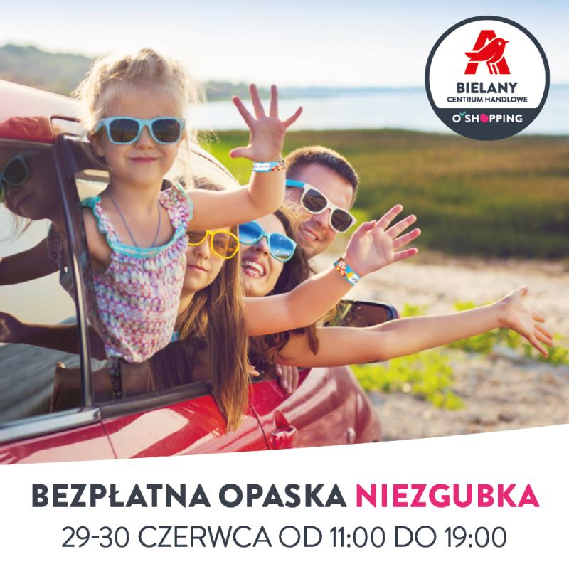 Bezpieczne lato zmamą itatą! – rozdajemy bezpłatne opaski dla dzieci