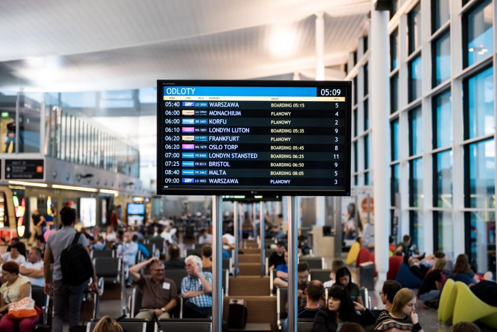 Już blisko 2,8 mln pasażerów na wrocławskim lotnisku