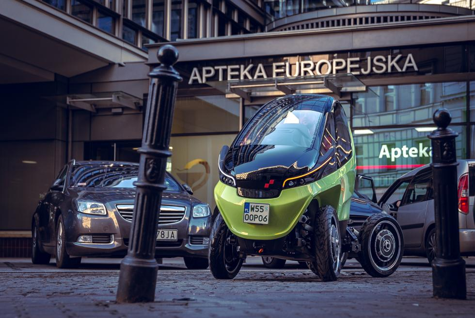 Triggo - pierwszy polski samochód na targach Geneva Motor Show 2020