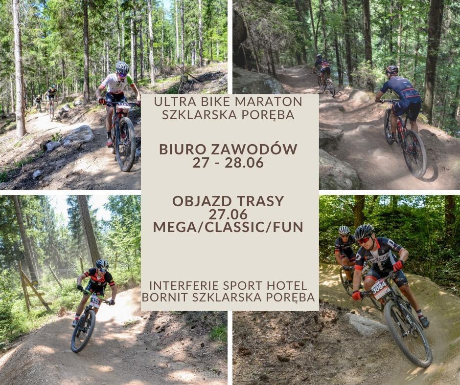Bike Maraton. Ultra Szklarska Poręba 4 lipca - zobacz trasy