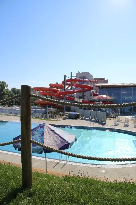 Otwarcie nowych basenów wAquaparku